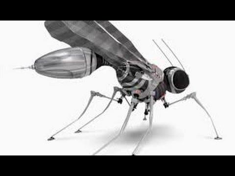 [ NANOTECHNOLOGIE ]  Robots Moustiques Militaire EXPERIMENTAL(collecteur A.D.N./sang)