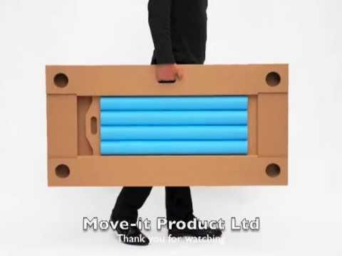 Resultado de imagen para mesa plegable con tubos de carton