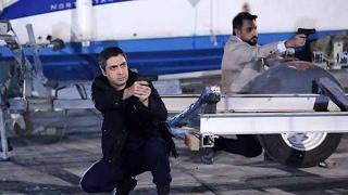 مراد علمدار و عابد يمسكان قاتل ليلى تركمان مشهد اكشن في قبرص من وادي الذئاب الجزء 10 الحلقة 1