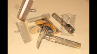 1910 Gillette Old Type Safety Razor
