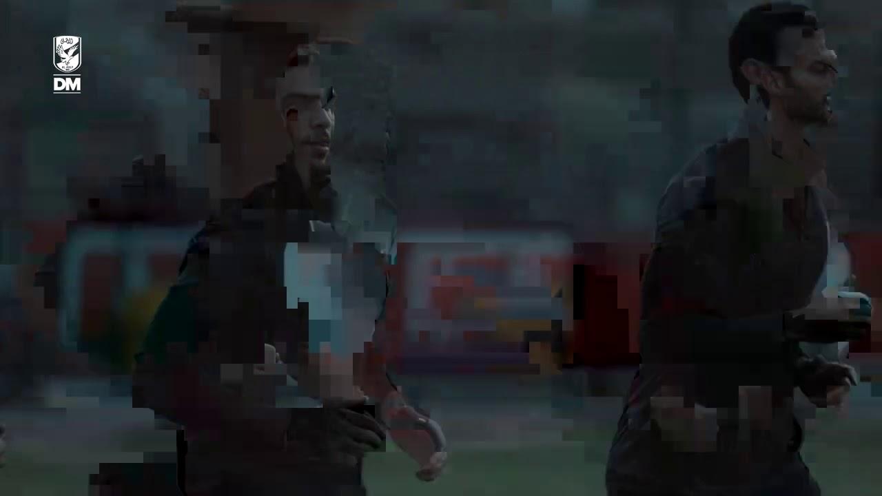 اخر مران للأهلي قبل مواجهة نادي مصر غداً