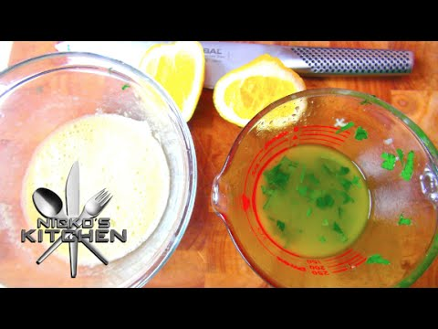 How to make Salad Dressing - Video Recipe