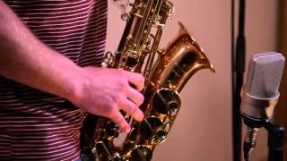Саксофон. Попурри  из известных композиций.