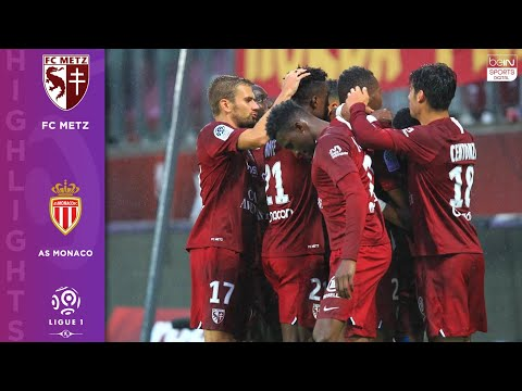 Metz 3 - 0 AS Monaco- HIGHLIGHTS AND GOALS