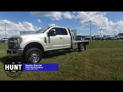 2018 F350 Lariat Aluminum Flatbed Youtube