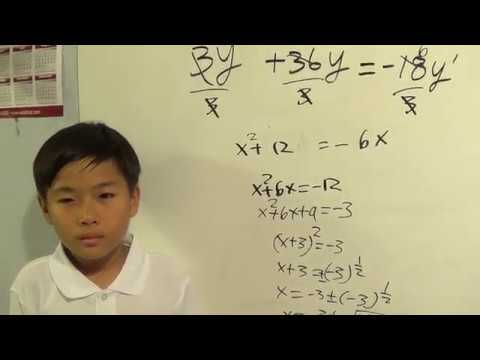 second order differential equations - 10 year old American Math Kid  doing advanced engineering math