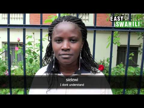 Easy Swahili - Basic Phrases for Greetings