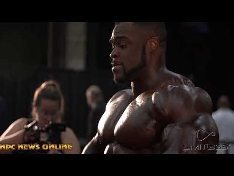 2019 Olympia Backstage