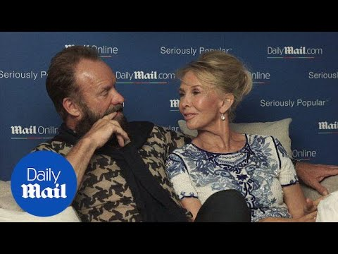 Sting and Trudie Styler on a long and successful marriage  Daily Mail