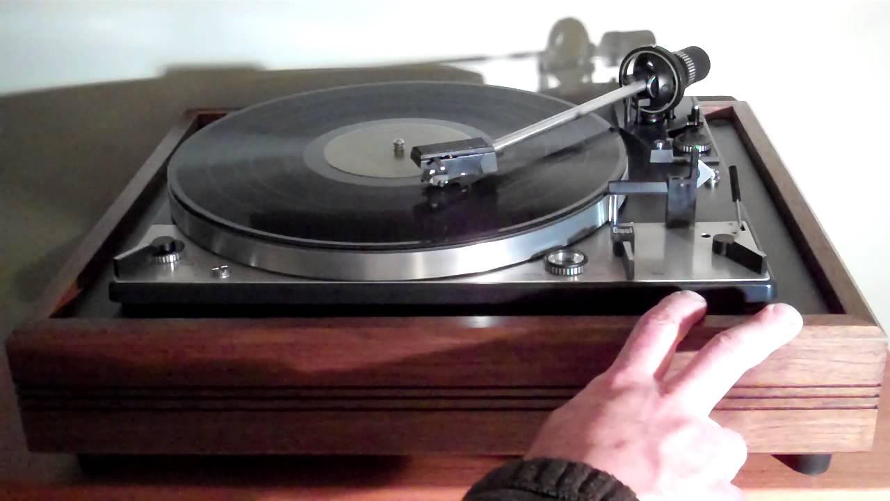 Custom Dual 1229 Turntable In Solid Walnut Plinth Fully