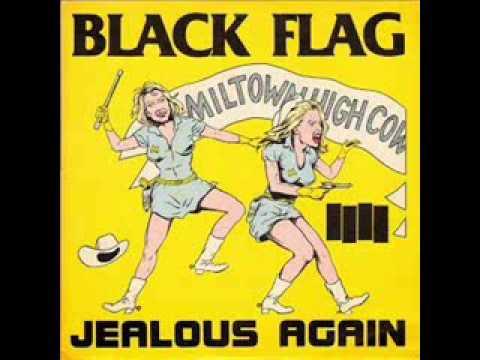BLACK FLAG - Jealous Again 12'' EP +  link