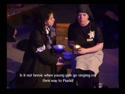 In the eyes of a 12 years old girl. Debut theatre, Hesed Arie  הצגה על ינינה השלס