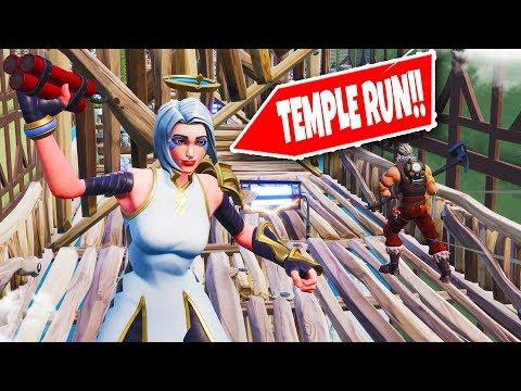 NIEUWE ONMOGELIJKE TEMPLE RUN?! | Fortnite Creative ft. Gamemeneer & Joost (Nederlands)