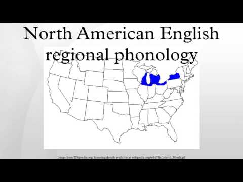 North American English regional phonology
