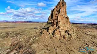 Phantom 4 Pro Monument Valley Utah, Arizona Landscape 4K Drone Flight 2017