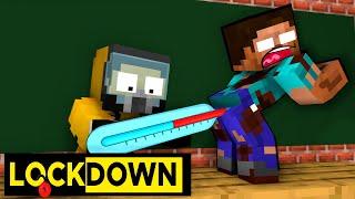 MONSTER SCHOOL IS LOCKDOWN! - Funny Minecraft Animation