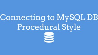 Connecting To MySQL DB Procedural Style PHP - TheMindSpeaks Mp3