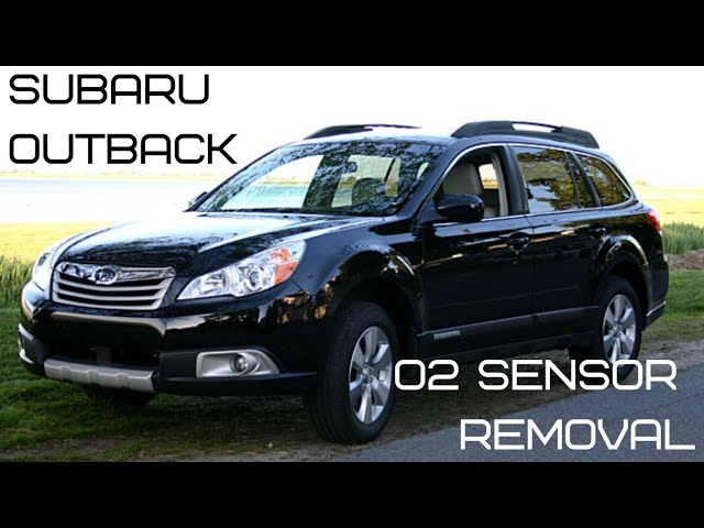 Subaru 2 5 outback O2 sensor replacement oxygen sensors that are