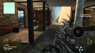 Quick Scope Master! - Call of Duty: MW3 Gameplay /w General Bater **With Commentary!**