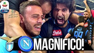 Download Video MAGNIFICO!!! LAZIO 1-2 NAPOLI | LIVE REACTION NAPOLETANI STADIO OLIMPICO HD MP3 3GP MP4