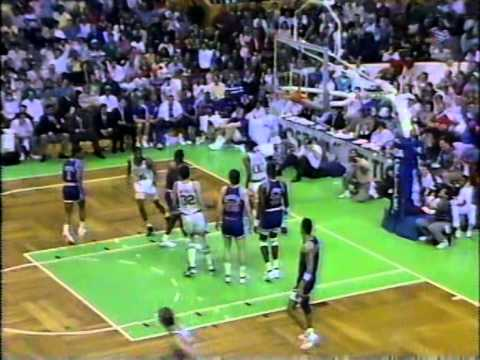 15.04.1990.- Knicks@Celtics: Larry Bird Triple-Double (17/17/13), Reggie Lewis 34 Points