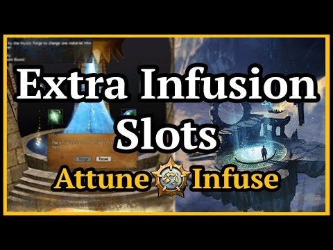 Guild Wars 2  - Attuning and Infusing for Extra Infusion Slots thumbnail