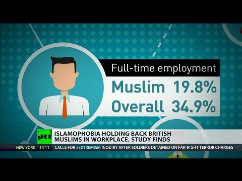 Just 1 in 5 Muslims are in full-time employment - study