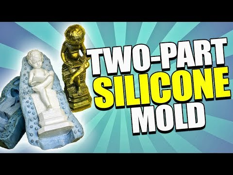 How to Make a 2-Part Silicone Mold Making  and Resin Casting Tutorial