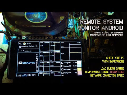 Monitoring System Computer To Android Smartphone  With Remote System Monitor