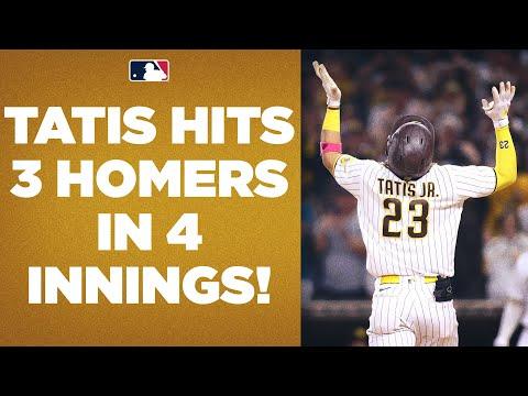 Download 3 HOMERS IN 4 INNINGS!! Fernando Tatis Jr. GOES OFF on the D-backs!
