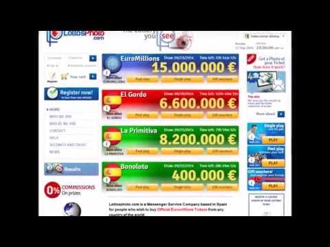 Play EuroMillions and Spanish Lottery - Lottosphoto.com