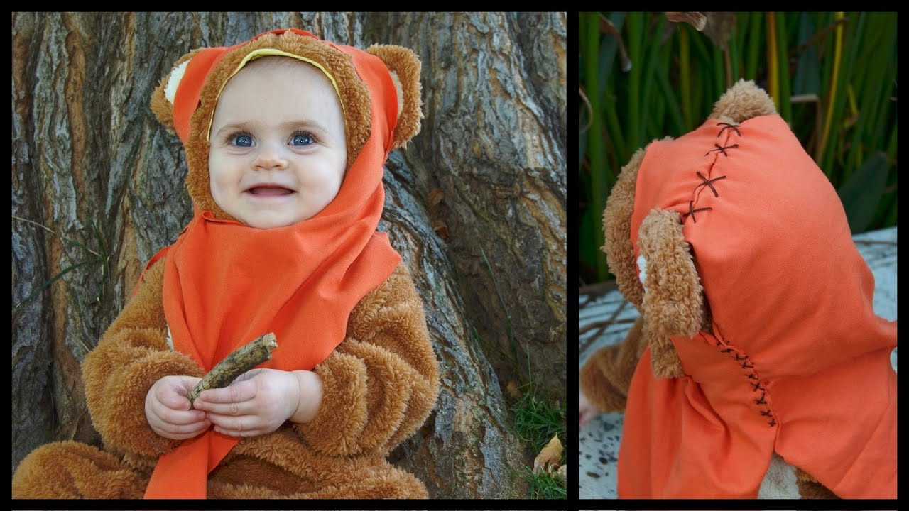 Ewok costume how to easy diy whitney sews youtube ewok costume how to easy diy whitney sews solutioingenieria Image collections