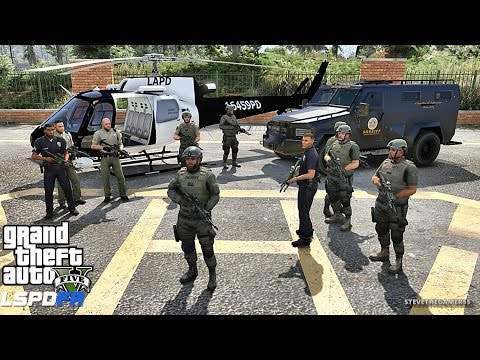 GTA 5 LSPDFR 0.3.1 - EPiSODE  305 - LET'S BE COPS - SHERIFF SWAT PATROL (GTA 5 PC POLICE MODS)