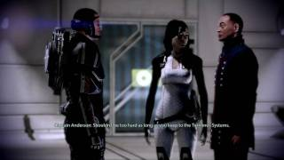 Mass Effect 2 Anderson and the Council