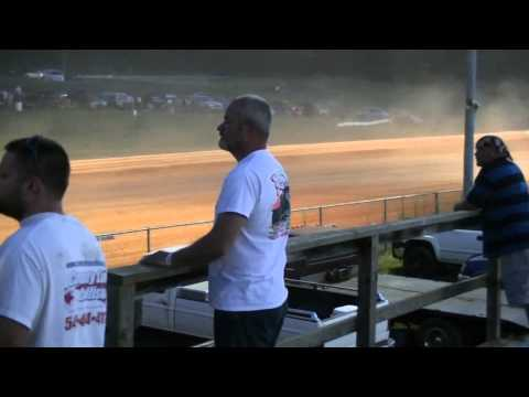 AUG 1, 2015 Street Stock Race at Natural Bridge Speedway