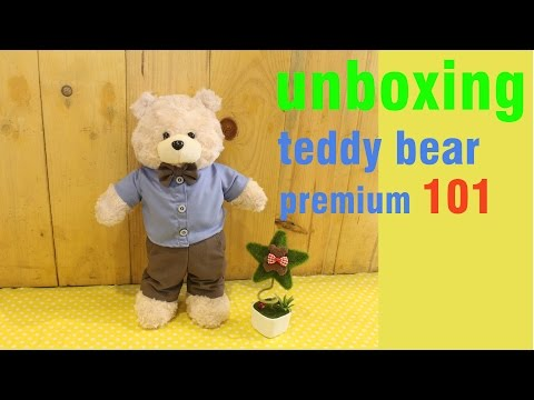 Boneka Teddy Bear Premium 101 (Male) by Beary Land