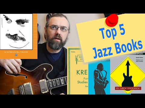 Top 5 Jazz Books That I learned a lot from!