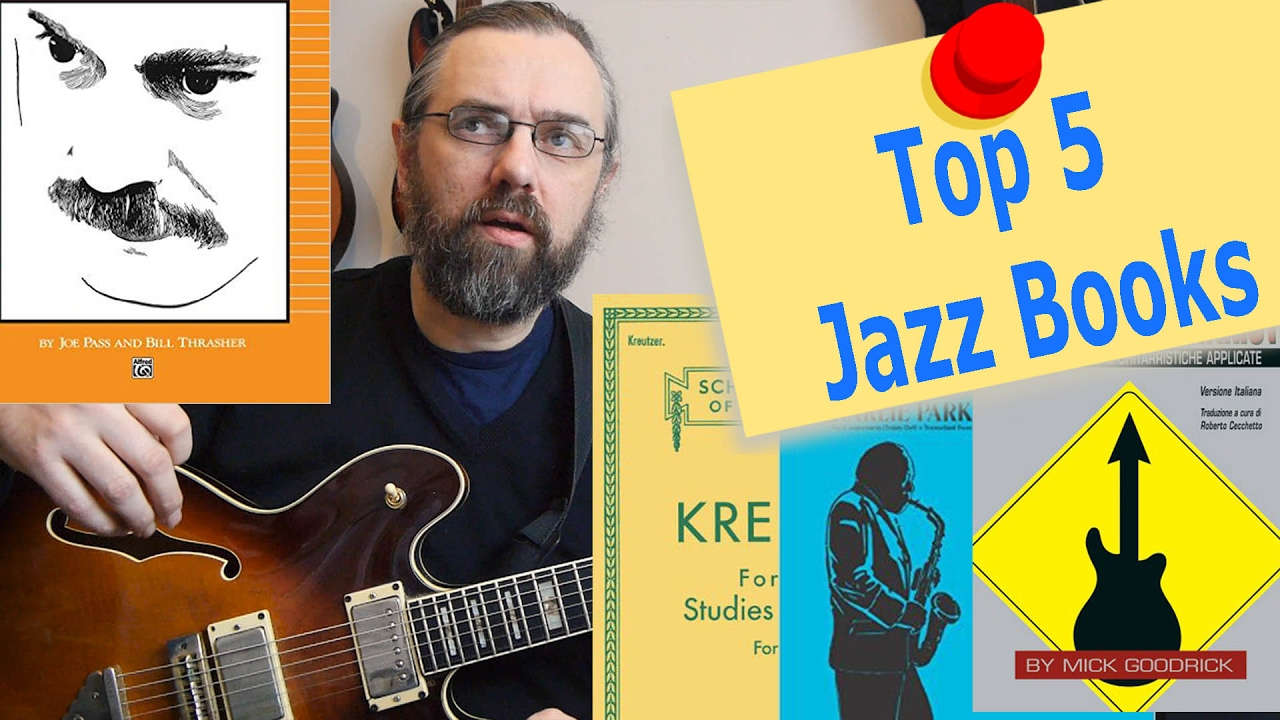 Top 5 Jazz Books That I Learned A Lot From Maps For The Jazz Guitar