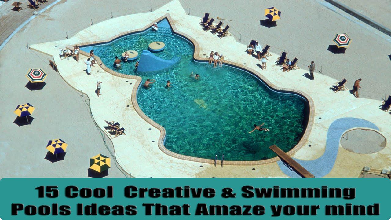15 Cool & Creative Swimming Pools Design Ideas - YouTube