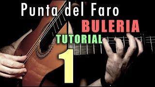 Free Stroke Exercise - 14 -Punta del Faro (Buleria) INTRO by Paco de Lucia