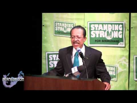 PLP Party Deputy Leader Derrick Burgess, Oct 17 2012