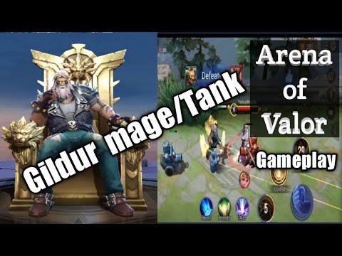 Arena of Valor Gildur Gameplay /mage Tank AOV Garena