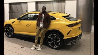 Meek Mill First Rapper To Buy 2 Lamborgini Trucks  Spends Over $1M On Urus