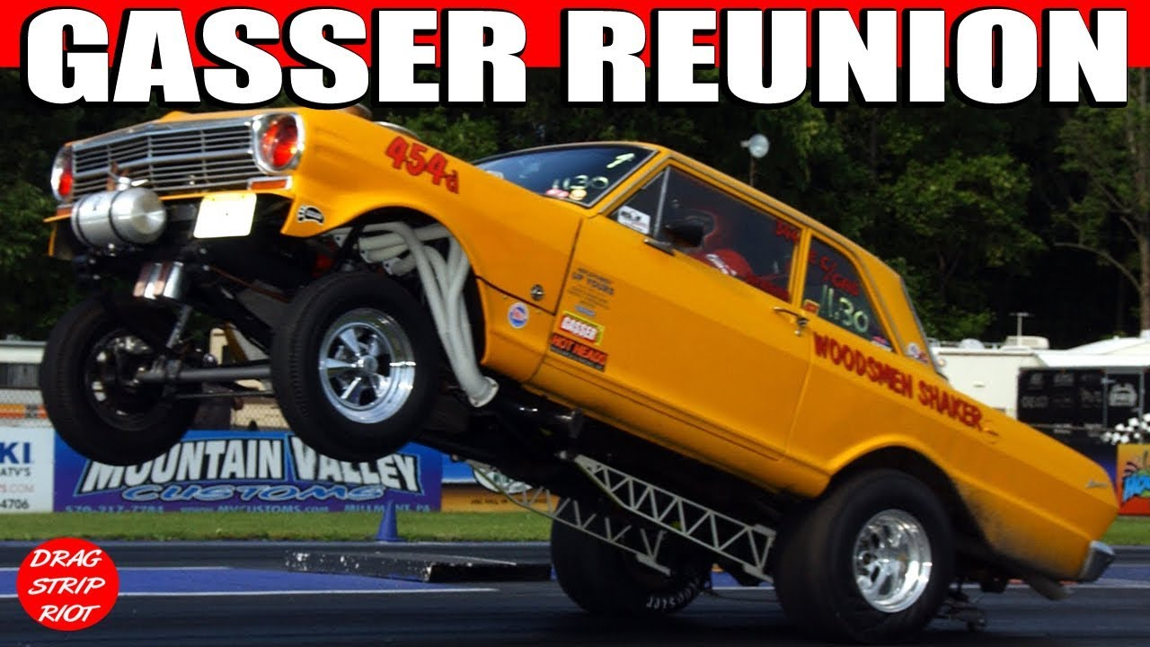 Gasser Reunion Nostalgia Drag Racing Compilation Beaver Springs Dragway 2012