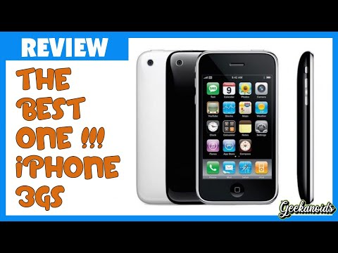 Apple iPhone 3GS Unboxing and Review