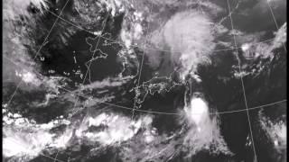 気象衛星 日本域 台風動画 収録期間2016年8月19日00時00分 同10月08日午後10時33分 台風第9号 ミンドゥル 台風第10号 ライオンロック 台風第11号ナンカー 台風第12号 ナムセー