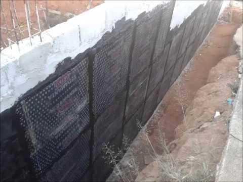 Resultado de imagem para Impermeabilização em Muros de Arrimo