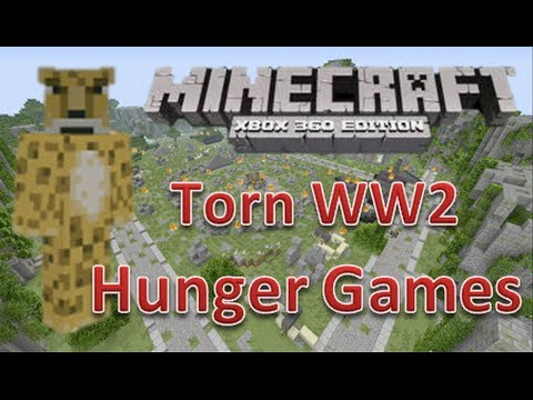 Minecraft xbox 360 Hunger Games | Torn (World War 2) | with Map ...