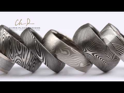 Chris Ploof Design Meteorite Rings and Mokume Jewelry for David Douglas Diamonds