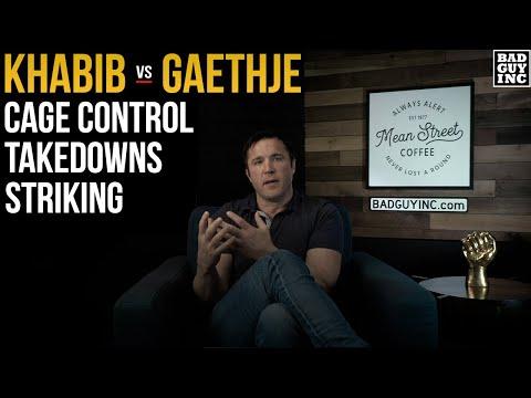 Takedown Threat: Khabib vs Gaethje